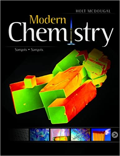 modern chemistry student edition 2012 9780547586632