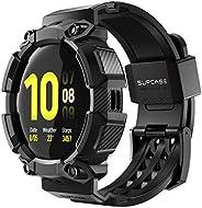 Pulseiras SUPCASE [Unicorn Beetle Pro] para Galaxy Watch Active 2 [44 mm] versão 2019 (Preto)