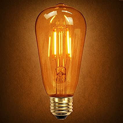 30w equal led filament edison bulb soft white dimmable amazon