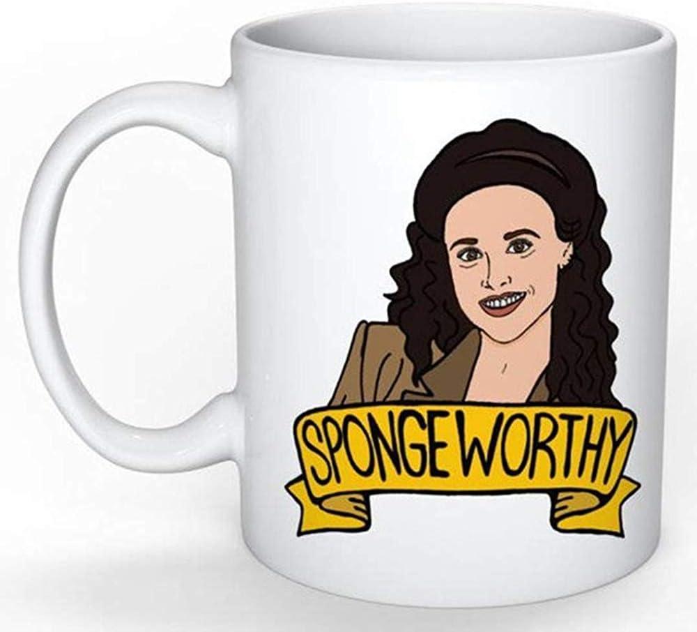 Elaine Benes Mug (Jerry Seinfeld George Costanza Cosmo Kramer Larry David Curb your Enthusiasm)