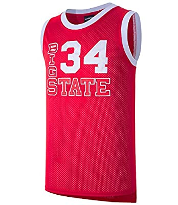 JOLISPORT Jesus Shuttlesworth #34 Big State He Got Game Movie Basketball Jersey