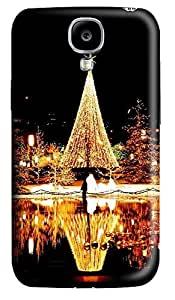 Samsung S4 Case Christmas Nights 3D Custom Samsung S4 Case Cover