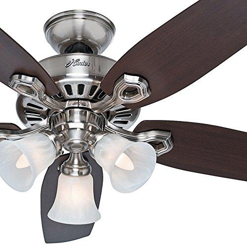 ceiling fan 42 inch nickel - 6
