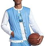 Nike, Birdy Shop, ZEN Market Jordan Men's Air Jordan 11 Basketball Jacket Carolina Blue AH1549 412 (m)