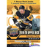 $22 » 2019/20 Upper Deck Series 1 NHL Hockey EXCLUSIVE HUGE Factory Sealed Blaster Box with YOUNG GUN ROOKIE Card! Look for JACK…