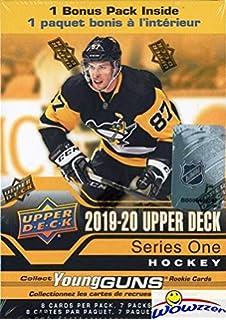 Hockey Wax Packs Sports Memorabilia 2019-20 Upper Deck Rookie Box Set Complete 25 Card Factory Set