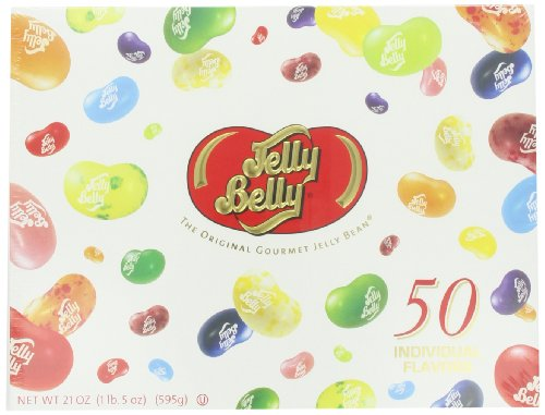 Jelly Belly Jelly Beans Gift Box, 21-Ounce (Jelly Belly Bean Factory)