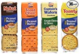 Lance Cookie/Cracker Variety, 36 Count (pack of 6)