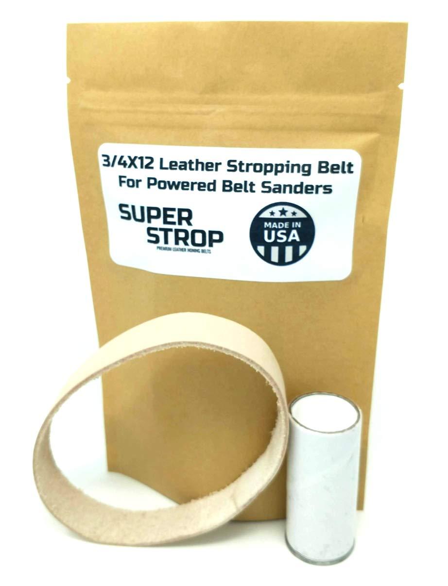 Amazon.com: Cinturón de piel de 3/4 x 12 pulgadas para ...