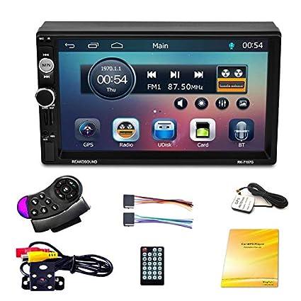 Lopbinte Coche 7 Pulgadas GPS NavegacióN Reproductor De FM ...