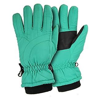 Urban Boundaries Women's Thinsulate Lined Waterproof Microfiber Winter Ski Gloves (Medium, Mint) (B00NOAXWZI) | Amazon price tracker / tracking, Amazon price history charts, Amazon price watches, Amazon price drop alerts