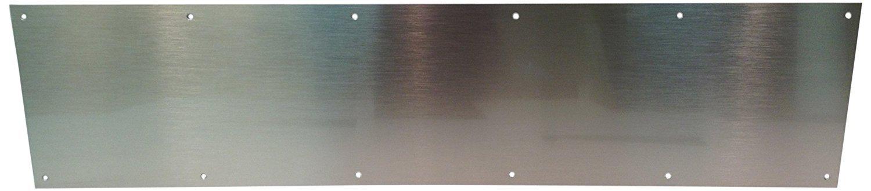 Stainless Door Kick Mop Plate, 6'' x 28''