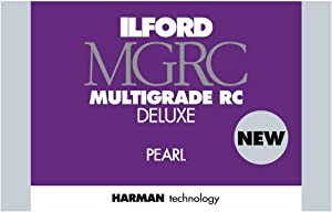 Ilford Multigrade V RC Deluxe Pearl Surface Black & White Photo Paper, 190gsm, 8x10, 50 Sheets