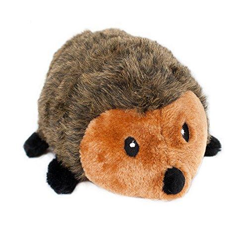ZippyPaws 12-Inch Hedgehog Squeaky Plush Dog Toy, X-Large ()