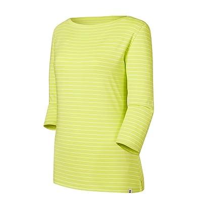 FootJoy Women's Stretch Lisle Stripe Boatneck Shirt