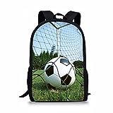 Nopersonality Football School Bag Children's Backpack for 6-10 Years Old Kids Double Shoulder Travel Bookbag