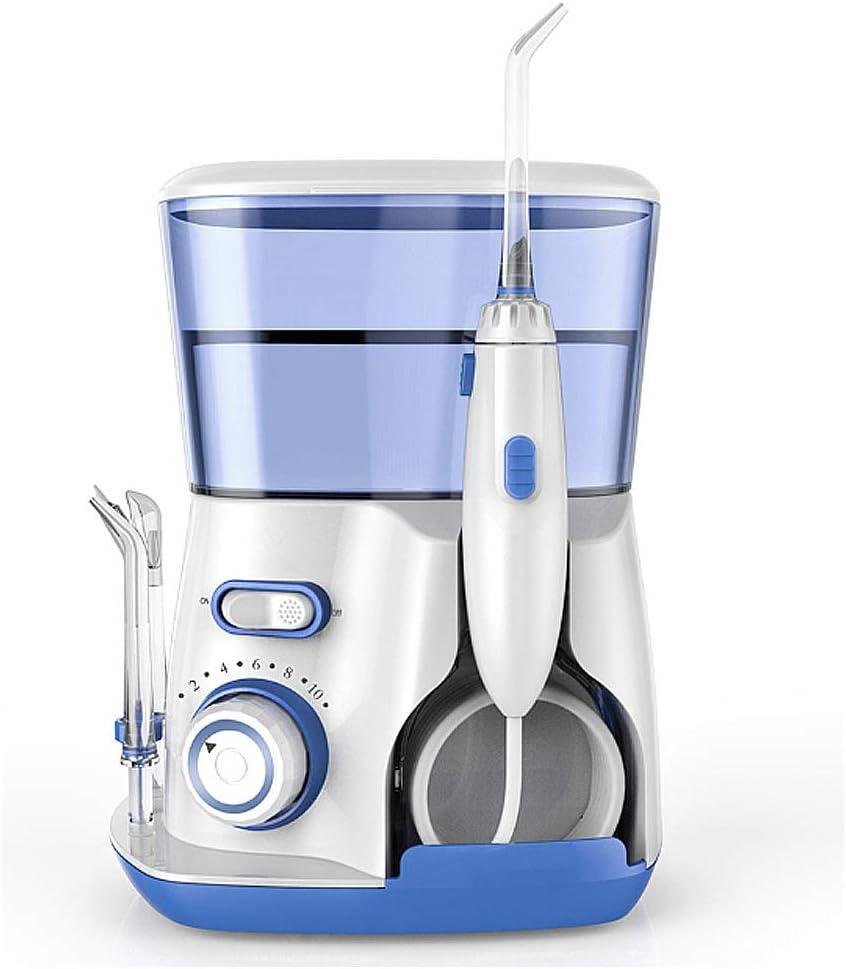 TTBF Irrigador Oral Portátil Profesional Inalámbrico Inodoro Dental para Dientes Limpia los Frenos 3 Modos de Limpieza USB Recargable IPX7 a Prueba de Agua
