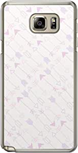 Loud Universe Samsung Galaxy Note 5 Love Valentine Printing Files A Valentine 103 Printed Transparent Edge Case - Multi Color