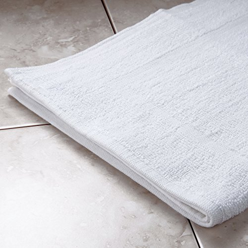 TableTop King 22'' x 34'' 100% Ring Spun Cotton Hotel Bath Mat 7 lb. - 12/Pack by TableTop King (Image #2)