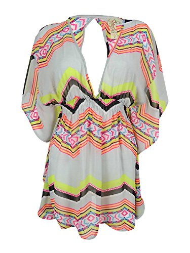 - Miken Keyhole Back Poncho Cover Up Small