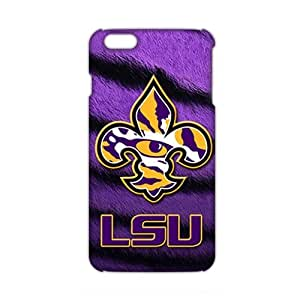 2015 Ultra Thin 3D Case Cover LSU Tigers football Phone Case for iPhone6 plus