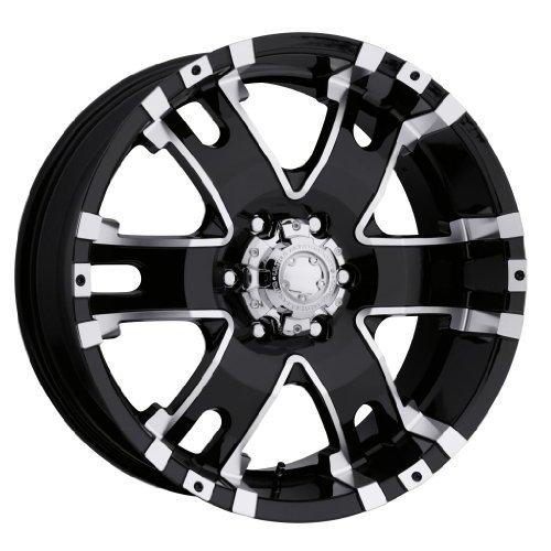 Ultra Wheel 202B Baron Matte Black Wheel (17x9
