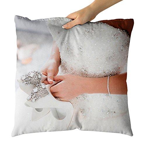 Westlake Art Flint Photograph - Decorative Throw Pillow Cushion - Picture Photography Artwork Home Decor Living Room - 14x14 (Flint Footwear)