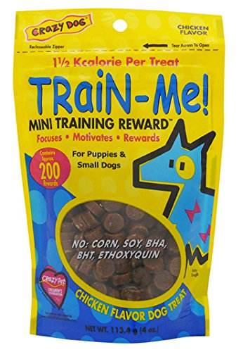 Crazy Dog Train-Me! Training Reward Mini Dog Treats ()