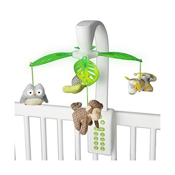 Skip Hop Baby Crib Mobile, Moonlight & Melodies with Projection, Safari