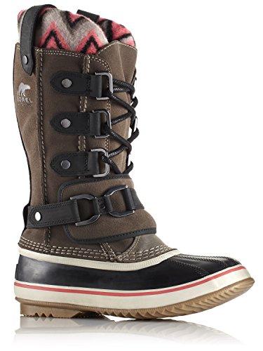 Sorel Womens Joan of Arctic Knit Premium II Boot,Major/Black,US 5.5 M