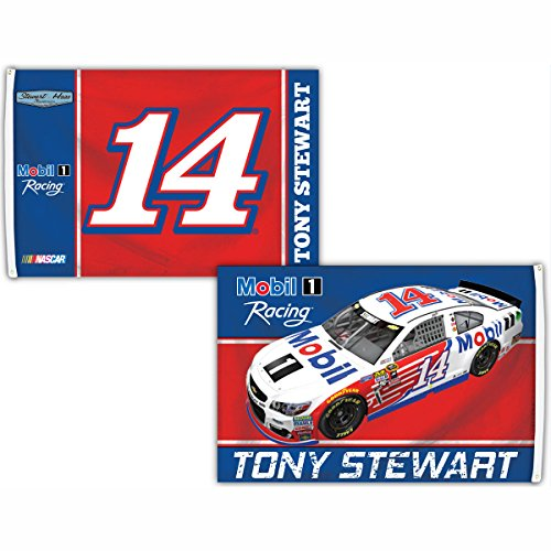 NASCAR Tony Stewart 3' x 5' Deluxe 2-Sided Flag