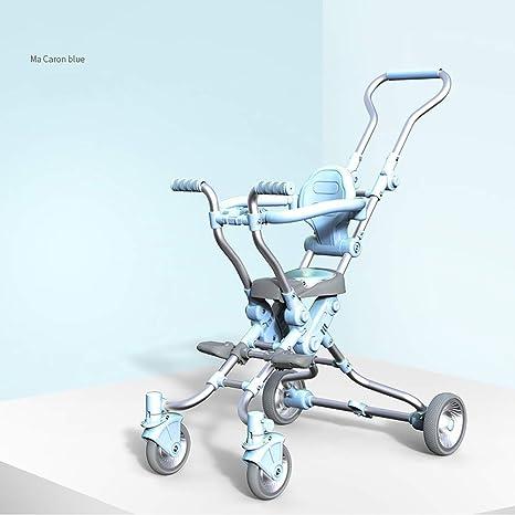 WYNZYYESTC Cochecito para bebés, artefacto Trolley para niños ...