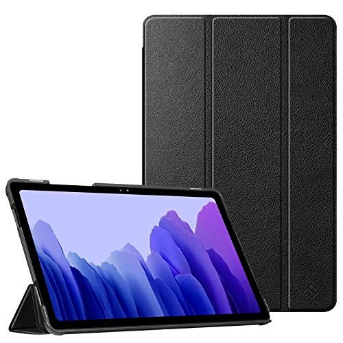 Fintie Slim Case for Samsung Galaxy Tab A7 10.4'' 2020 Model (SM-T500/T505/T507), Ultra Lightweight Tri-Fold Stand Protective Cover with Auto Wake/Sleep, Black