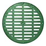 Storm Drain FSD-3017-G20B 20'' Round Flat Green Grate for Catch Basin