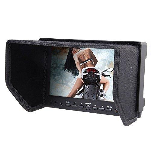 Bestview 7 Inch IPS Screen Camera Field Monitor VGA/AV/HDMI Input for DSLR Camera Camcorder