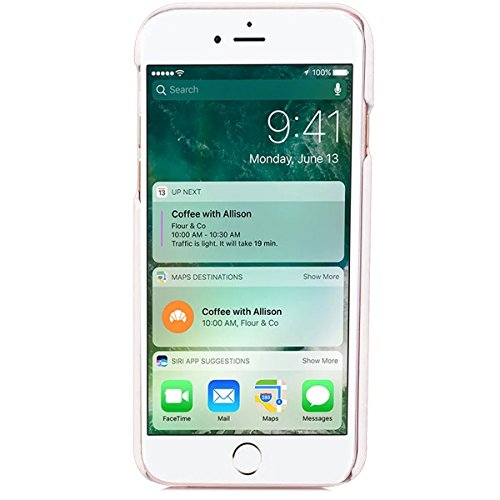 iPhone 7 Hülle, Apple iPhone 7 Hülle, Lifeturt [ Weiß ] Gemalt Mode-Design PC Hardcase Handycover Schutzhülle Etui Telefon-Kasten Hülle Case für Apple iPhone 7