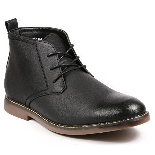 Black Men's Dress Boots: Amazon.com