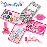 Petite Girls Cell Phone Shaped Cosmetics Play Set - Fashion Makeup Kit for Kids