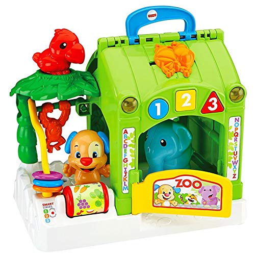 LAUGH & LEARN Fisher Price Smart Stages Activity Zoo Gift - Fisher Price Zoo