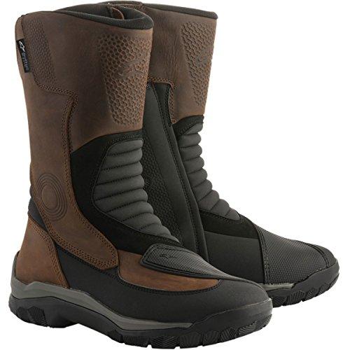 Alpinestars Campeche Drystar Men's Street Motorcycle Boots - Brown / 11