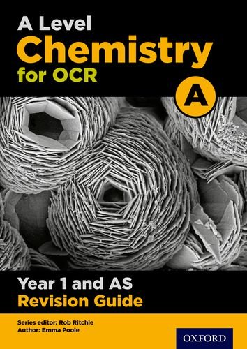 B.o.o.k OCR A Level Chemistry A Year 1 Revision Guide: Year 1 KINDLE