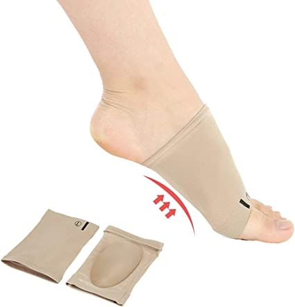 Orthotic Insoles High Arch Support Flat Feet Foot Plantar Fasciitis Pads 1 PAIR