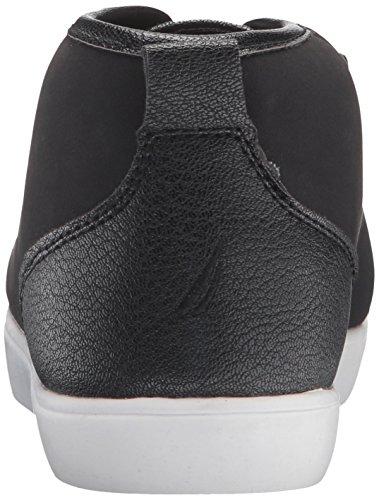 Nautica Fashion Mid Black Lubec Sneaker Women's 44qxv7Y