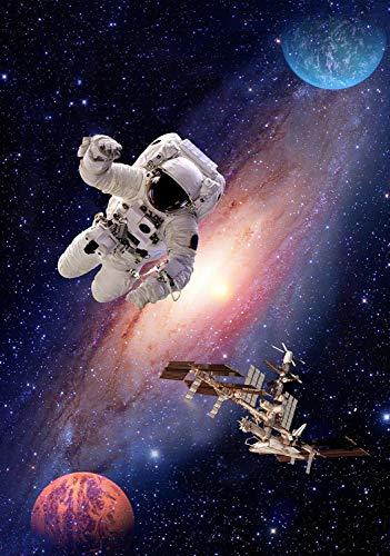 Windham Fabrics Interstellar Spaceman Panel Multi Fabric Fabric by the Yard