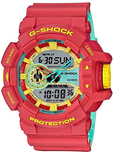 [해외][카시오] CASIO 시계 G-SHOCK 지 쇼크 ブリ?ジ-래스터 색 GA-400CM-4AJF 남성 / Casio CASIO Watch G-shock shock brige-Rasta color GA-400CM-4AJF Mens