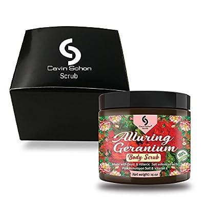 Excellent Organic Exfoliating Body Scrub - 100% Pure Sea Salt Scrub, Excellent Hydrating, Exfoliation & Moisturizing Properties
