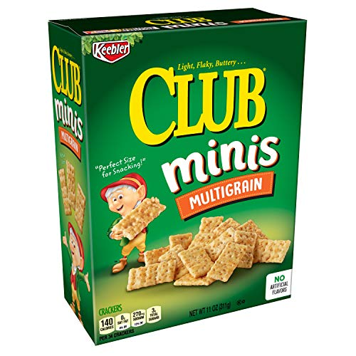 (Keebler Club Crackers, Minis, Multi-Grain, 11 oz Box)