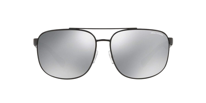 7361a0cb9f02 Amazon.com  Armani Exchange Men s 0ax2026s Polarized Aviator Sunglasses