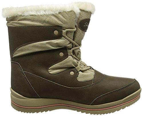Para Mujer Marrón Skechers tan brown Botas Colorado qxfAwZ0E7