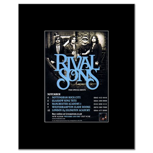 rival sons poster - 8